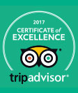 Tripadvisor ceritficate of excellence