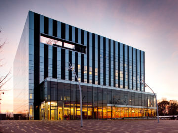 The Core at Corby Cube exterior