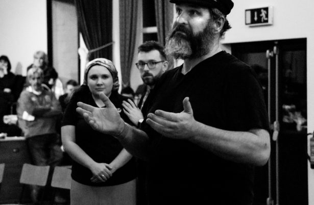 Fiddler On The Roof Rehearsals